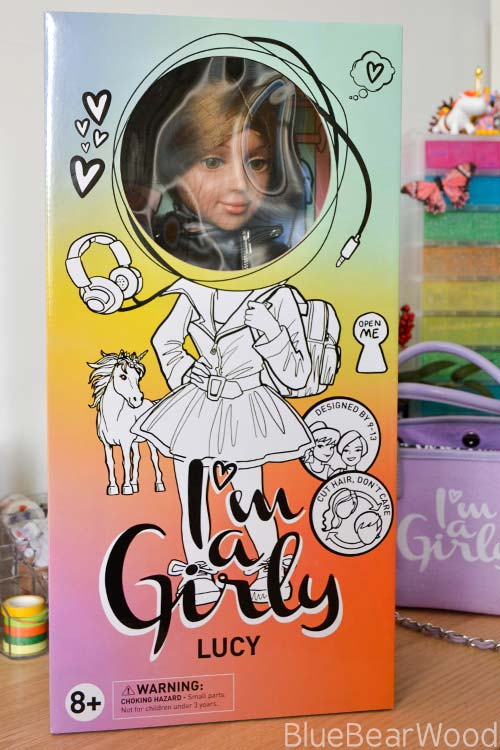 I'M A GIRLY DOLL PACKAGING
