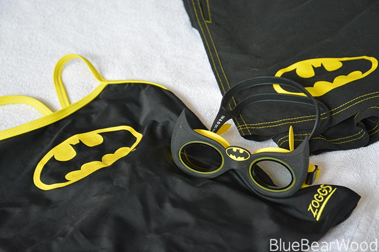 zoggs batman swim wear