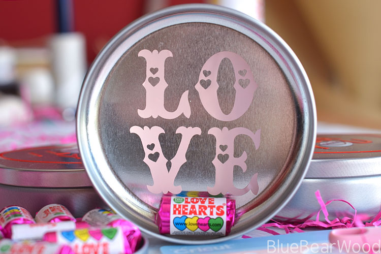 Swizzels Love Hearts Tin Valentine Gift