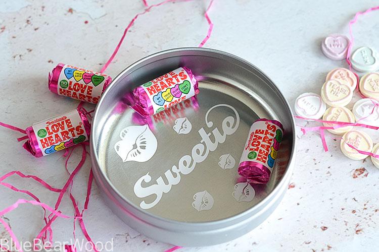Swizzels Love Hearts Tin Gift Idea