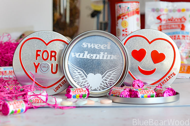 How To Personalise Your Swizzles Love Heart Tin