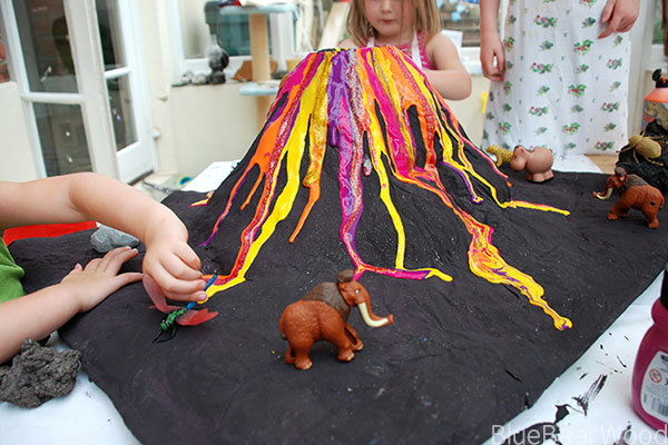 How To Make A Papier Mache Volcano