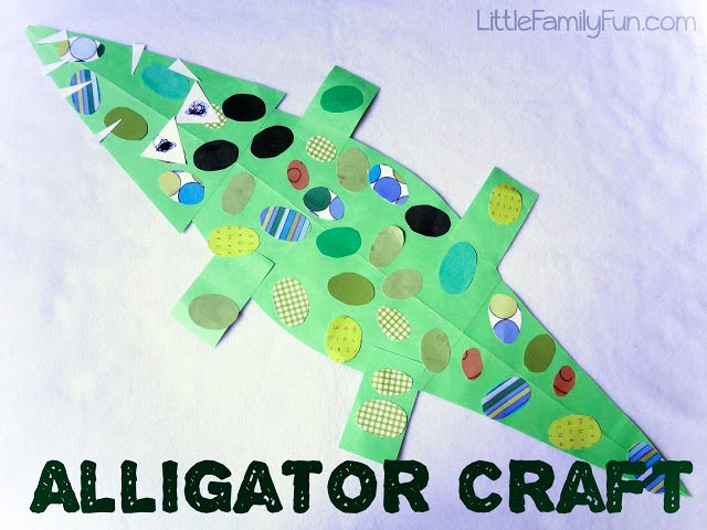 Jewelled Crocodile Craft