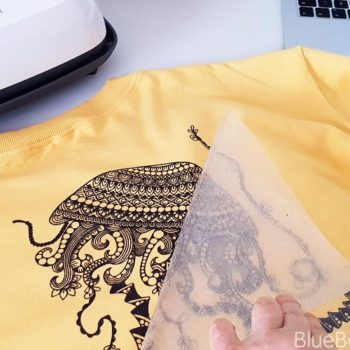 Cricut DIY Jelly Fish T-shirt