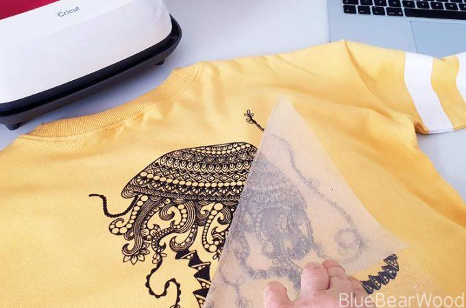 Cricut DIY Jelly Fish T-shirt