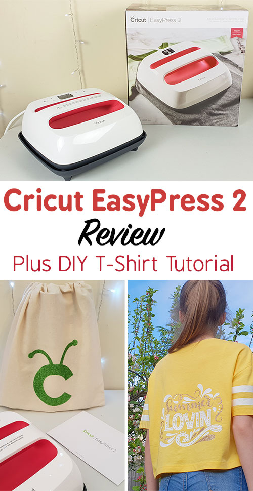 Cricut EasyPress 2 Review & DIY Cricut T-Shirt Tutorial