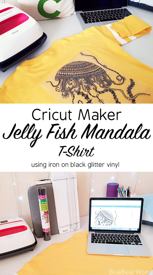 How To Use The Cricut Maker To Make Your Own Jelly Fish T-Shirt