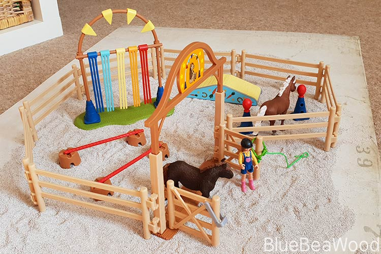 Schleich Pony Agility Training Set