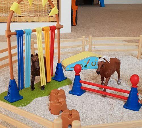 Schleich Pony Agility Training Set – Schleich Farm World Range