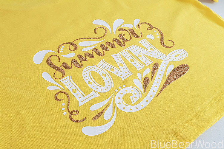 Summer T-Shirt For Teens Using Cricut Maker