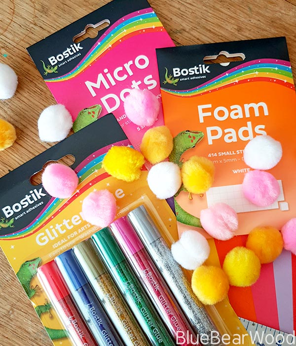 Bostik Micro Dots Bostik Foam Pads Bostik Glitter Glue