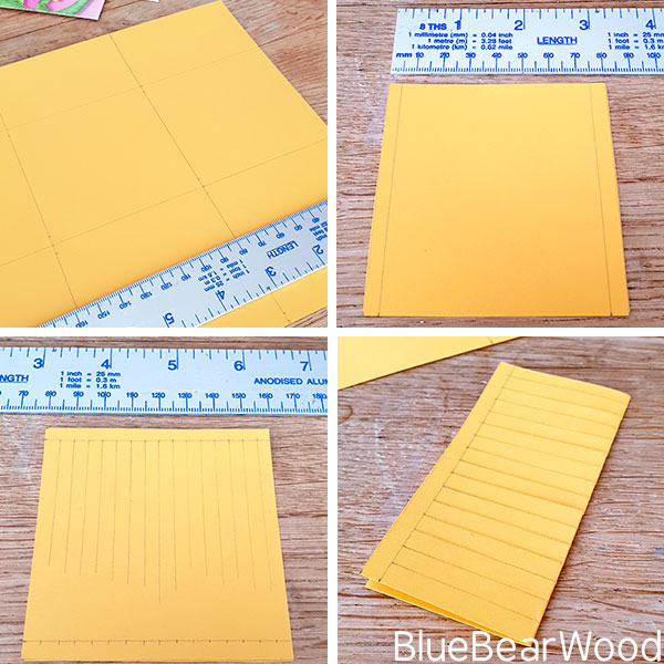 Template Steps For Making DIY Paper Flower