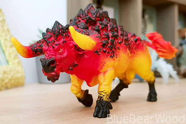 Schleich Eldrador Lava World Fire Bull