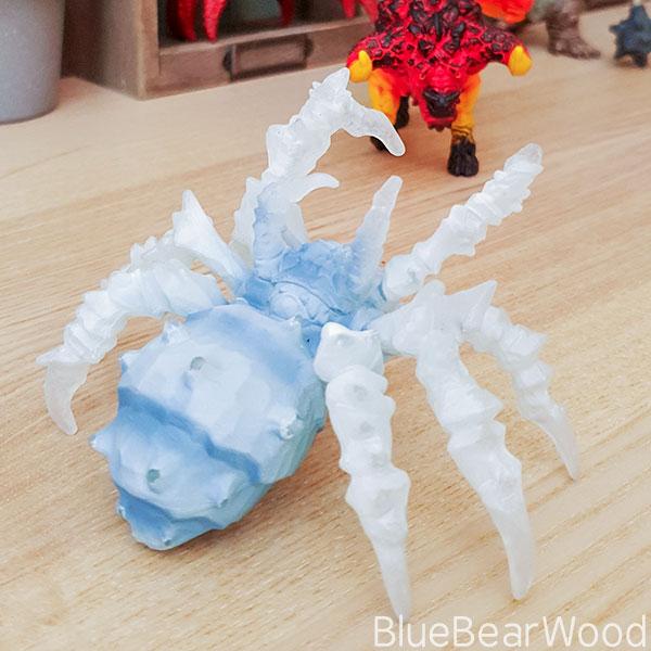 Schleich Eldrador Creature Ice Spider