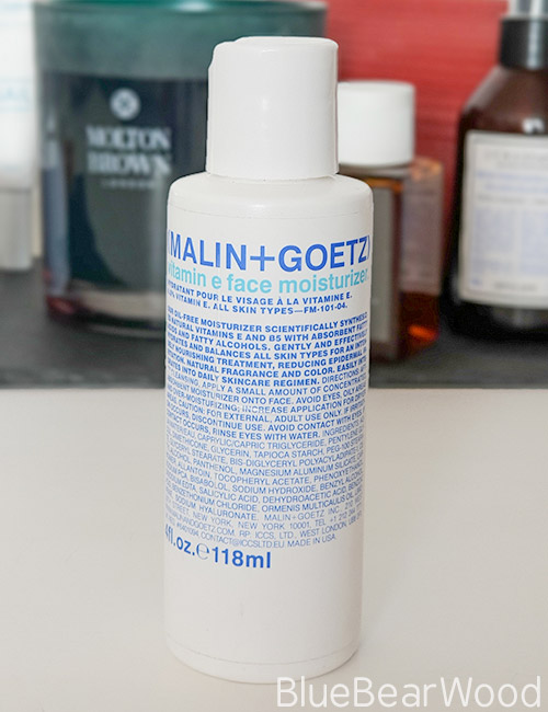 Malin And Goetz Moisturiser For Men