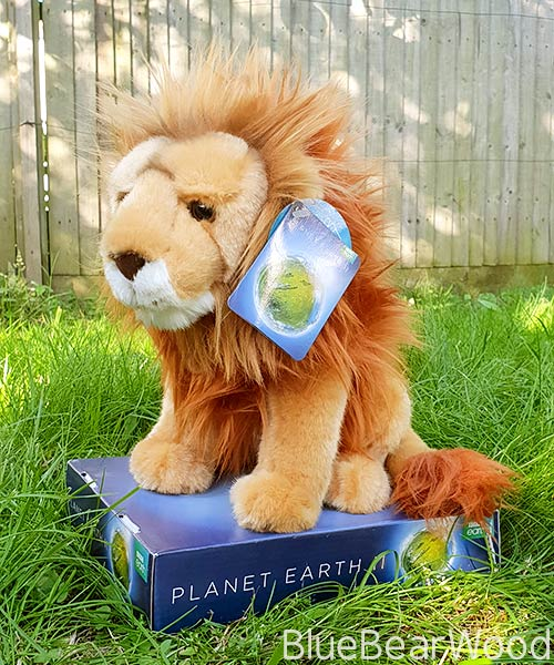 Posh Paws BBC Planet Earth Lion Plush Toy