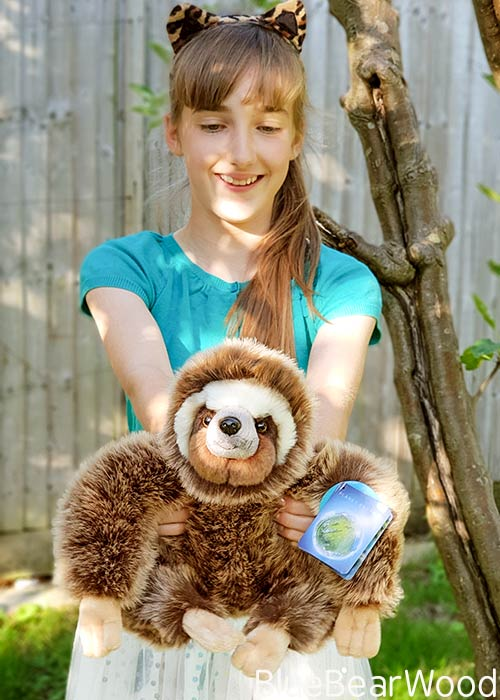 Posh Paws BBC Planet Earth II Sloth Soft Toy