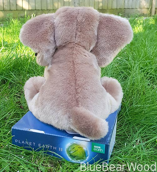 BBC Planet Earth II Elephant Soft Toy