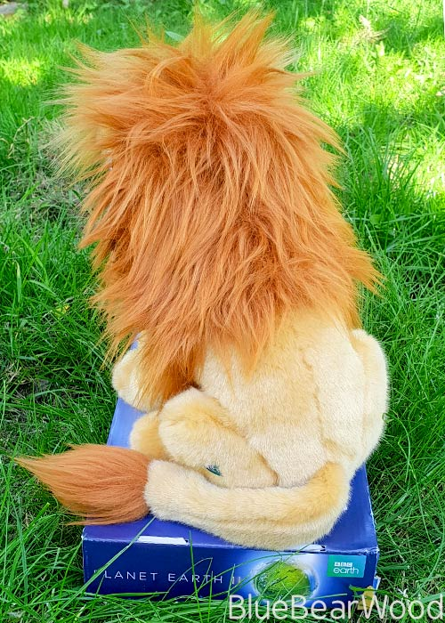 BBC Planet Earth II Lion Soft Toy