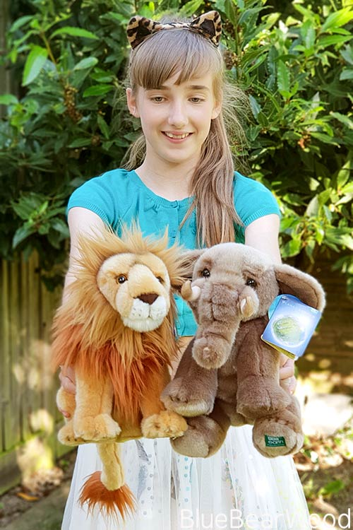 Posh Paws BBC Earth Soft Toys