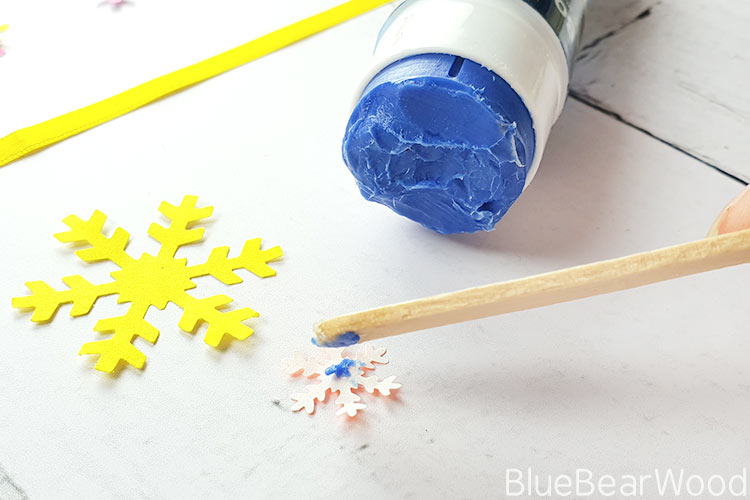 Gluing Snowflakes Together