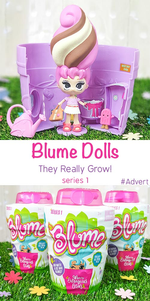 Blume Dolls The New Collectable Doll That Grows Right In Front Of You
