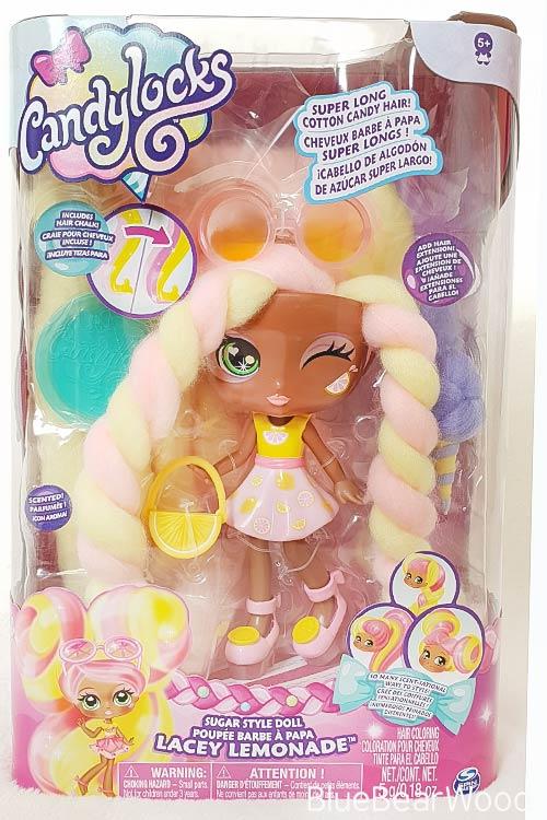 Candylocks Scented Dolls Lacey Lemonade