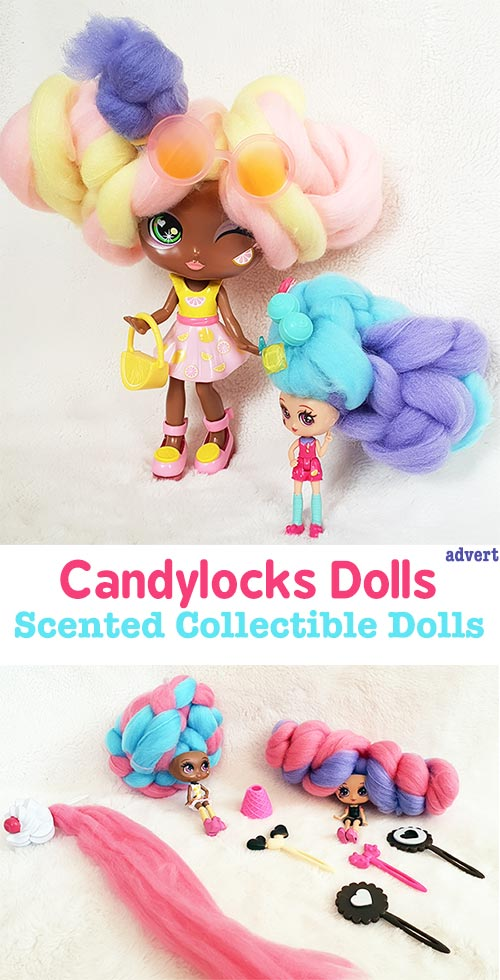 Candylocks Scented Dolls Collectible Dolls With Super Soft Hair