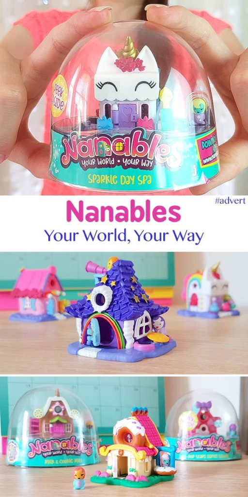 Nanables Collectable Toys Your World Your Way