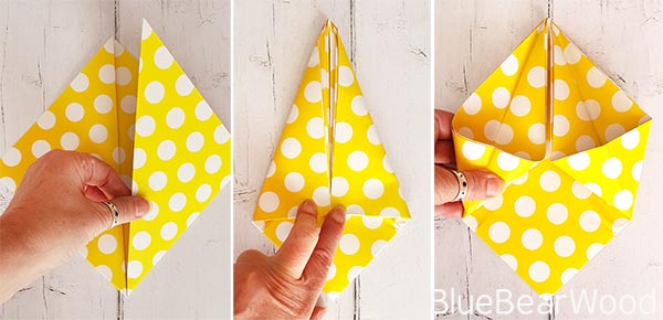 DIY Origami Pen Pot Holder