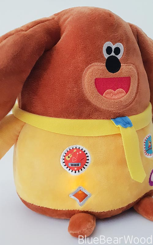 Badges On My Duggee Soft Toy