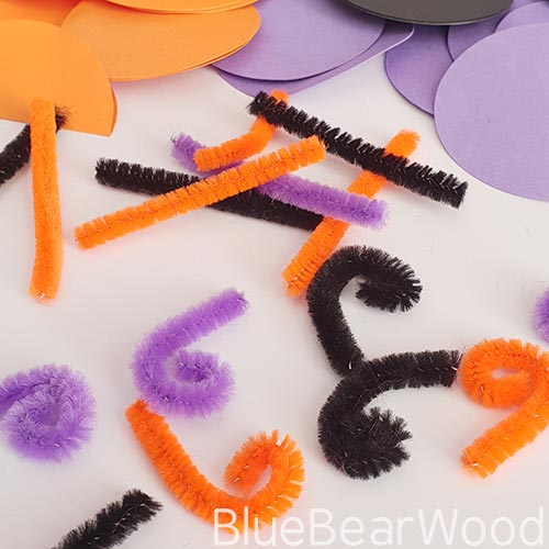 Curled Pipe Cleaners