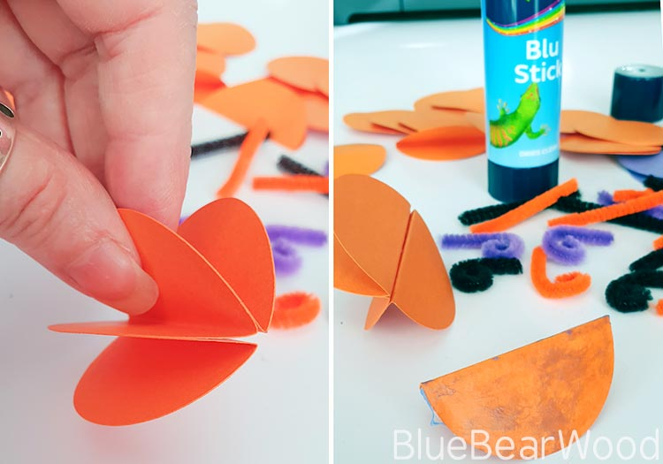 Glue Circle Pieces Together