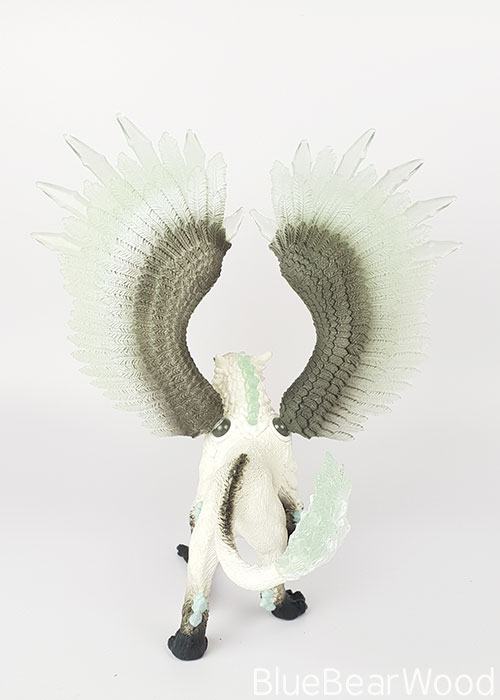 Schleich Eldrador Ice Griffin From Behind
