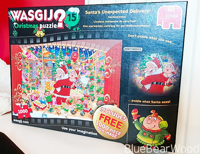 Wasjig Christmas Jigsaw Puzzle Santas Unexpected Delivery