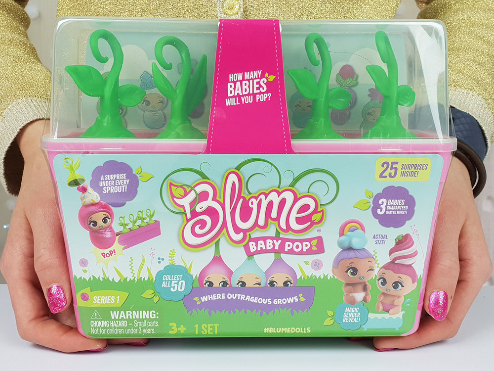 Blume Baby Pop Packaging